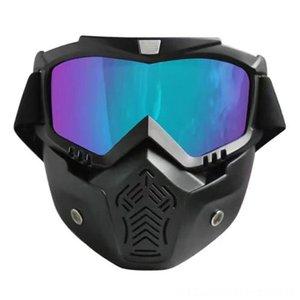 Winter Men Women Motorbike Cycling Protective Gear Cycling Helmets Goggles Ski Snowboard Snowmobile Goggles Windproof Skiing Glass Sunglass