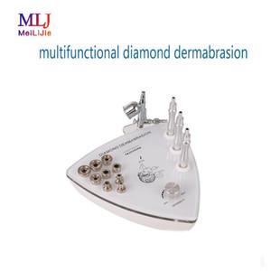 2019 multifuncional de diamantes microdermoabrasión rociador de oxígeno HydraFacial para la máquina de spa de belleza cuidado de la piel para el hogar y salón de belleza
