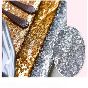 30 * 275cm Frack Table Runner Gold Sequin Table Cloths Sparkly Bling for Wedding Party Decoration Products Supplies