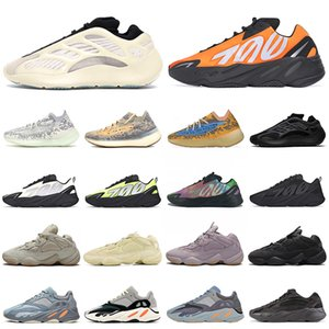 Azael adidas boost 700 v3 v2 chaussures de course hommes femmes blanc squelette or dans le noir kanye mens trainer wave runner sport sneakers 36-45