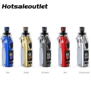 Kangvape Anarchist 60W Kit 1500mah Battery and 4.0ml Empty Atomizer with OLED Display for MTL and DTL 100% Original