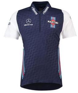 F1 Radfahren Rennanzug T-Shirt Ferrari-Team Sommer Revers POLO-Hemd Motorrad schnell trocknende Kurzarm-team uniform