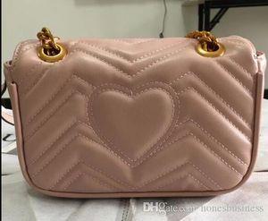 2018 mujeres diseñador de moda los bolsos de cuero de la PU cadenas solapa bolsas de hombro bolsa de equipaje cuerpo cruz Hobos monedero bolsa de 22x14x7cm