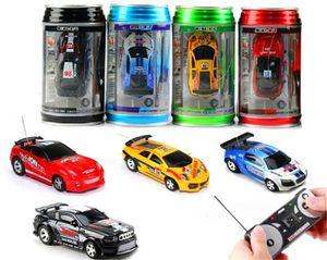 Hot Eapacket Mini-Racer Telecomando auto-macchina coca coke Can Mini RC Radio Telecomando Telecomando Micro Racing Car 8 Color