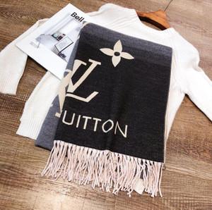 2020 осенью и зимой роскоши кашемир шарф бренд дизайнер элитного бренда комфорт шарф w18-2