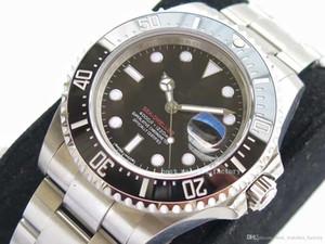 Alta calidad reloj Asia 2813 Deportes de cerámica Bisel Mar [Solo Rojo] 43mm 50 Aniversario m126600 zafiro de cristal automática del reloj para hombre de Watche