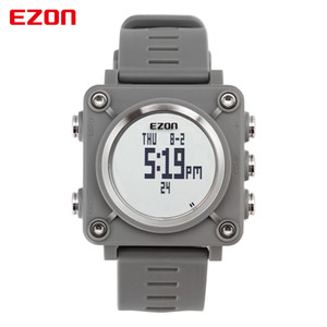 EZON L012 High Quality Fashion Casual Sports Digital Watch Outdoor Sports Waterproof Compass Stopwatch Wristwatches for Children