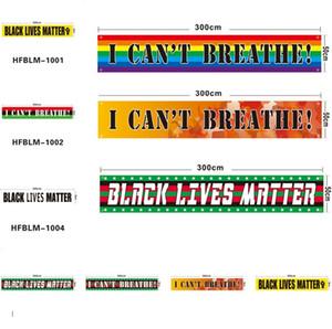 Праздничные Черные жизни имеют значение флаги я не могу дышать флаг американский парад флаг баннер флаги 6095