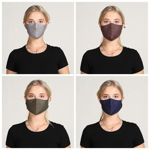 Fashion Piercing Face Mask Dustproof Haze-proof Protective Mask with Hole Men and Women Washable Reusable Cycling Designer Masks IIA213