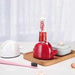 Brève enfant Dentifrice Support à Rouge Blanc Couleur Plastique Dentifrices Rouleau Tube NETTOYANT Squeezers de la maison Salle de bains Supply1 6cy E1