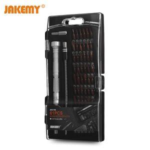 JAKEMY JM - 8166 Набор инструментов для ремонта отверток 61 в 1 с прецизионным драйвером