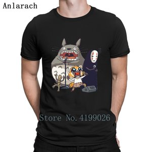 Karaoke Squad T Shirt Pop Top Tee Summer 2019 Creative Building My Neighbor Totoro T Shirts Letter Interesting O Neck Tee Shirt