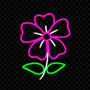 Rosa Fiore Segno Bar KTV casa decorazione della parete camera da letto al neon fatti a mano segno di luce 12 V Super Bright