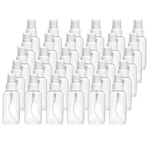 Botella de Spray de 30 Ml botella de Spray transparente botella de plástico vacía recargable botellas de viaje adecuadas para líquidos de desinfección 30 piezas