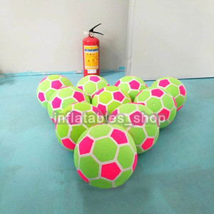 Бесплатная доставка от двери до двери (10 шт. / Лот) 20 см надувной воздушный липкий футбольный мяч для дартс / надувной воздушный футбольный мяч