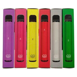 800+ Puff Bar oltre a nuovi Puff Inoltre 550mAh 3.2mL monouso pre-compilata dispositivo Vape Pen POD Stick Style Starter Kit con Codice di Sicurezza Eon Posh