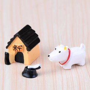el sanatları reçine 3pcs / lot XBJ256 yavrusu domuz karikatür hayvan üç parçalı bebek yaratıcı mikro peyzaj süsler