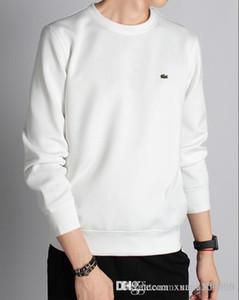Erkek ilkbahar ve sonbahar yeni uzun kollu T-shirt erkek giyim erken sonbahar eğlence ceket yuvarlak yaka kapak kafa kazak