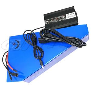 48V 30Ah треугольник E-Bike литиевая батарея для Bafang 1500W Мотор 48В Электрический велосипед аккумулятор для Panasonic 18650 соте + 5A зарядное устройство