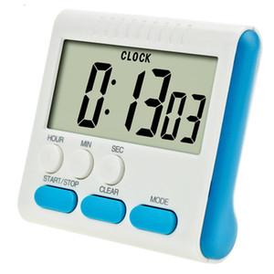 Digital Kitchen Timer Contagem exibição de Down Up LED cozer Temporizador Mini Cozinhar Reminder aprendizagem eletrônica sem bateria 4 cores CJT BH2158