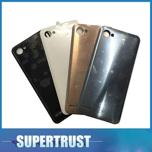 For LG Q6 M700A Battery Cover Housing Cases Back Door Rear Black White Gold Grey Color