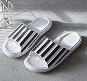 Mens Women Sandals Designer Shoe Luxury Slide Summer Fashion Wide Flat Slippery Sandals Slipper Flip Flop size 35-46 flower box zs022