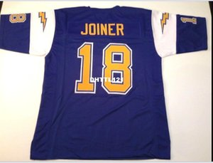 Uomo Charlie Joiner # 18 cucito cucito RETRO JERSEY Completo ricamo Jersey Taglia S-4XL o personalizzato qualsiasi nome o numero maglia