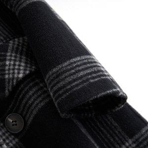 Wool Real Coat Female Jacket Autumn Jacket Women Double Woolen Coats and Jackets Women Korean Long Plaid Jacket MY4130 en s s