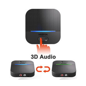 3D AptX Bluetooth 5.0 QCC3008 RCA Audio Receiver 3.5mm Jack Music Wireless Adapter Auto ON for Speaker Car Transmitter 50M &20H