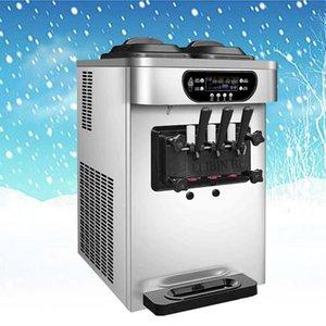 Горячий продавать Коммерческий Конус Мороженое Замороженный йогурт Soft Serve Desktop энергосберегающий Ice Cream Machine / 110V / 220V