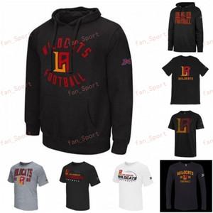 Erkek T-shirt Los Angeles Wildcats XFL Futbol Jersey Luis Perez Jalen McClendon Taryn Christian İlyas Hood Larry Gül Kazak Hood yazdır