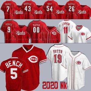 2020 Baseball Maglie 30 Ken Griffey