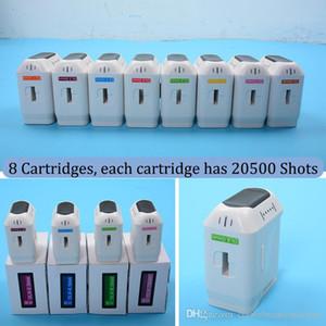 cartuchos 3D HIFU para la cara de elevación de eliminación de arrugas 8 artridges diferentes 20500 disparos cada cuerpo de la reducción de grasa de adelgazamiento de cartucho HIFU 3D
