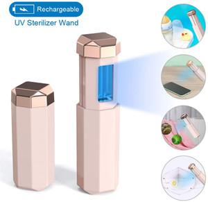Portable Ozono disinfezione della lampada della luce UV UVC sterilizzatore UV lampada a raggi ultravioletti germicida della lampada per la casa di viaggio Hotel