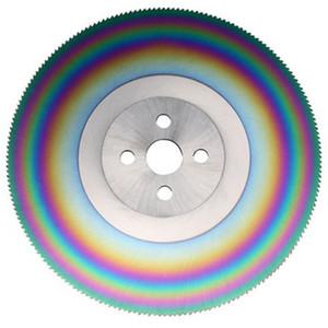 disco HSS-M42 taglio circolare lama da 9 pollici rotella 250 * 2.0mm rotonda dischi di taglio Strumenti teethless   150T   arcobaleno 180T