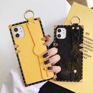 Fashion luxury Designer Phone Case For IPhone X XS MAX XR 8 7plus 6 6s Brand PU Leather Cellphone Cover Cases Anti-shock shell