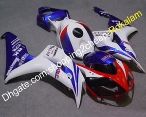 Мотоцикл кузовных деталей для Honda 06 07 2006 2007 CBR1000RR CBR 1000RR 1000 RR КПЧ Синий Белый Красный обтекателя (Литье под давлением)