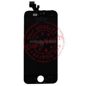 Front For Iphone 5 Glass Lcd Display Touch Digitizer Complete Screen With Frame Full Assembly Replacement 1 Day Shipping
