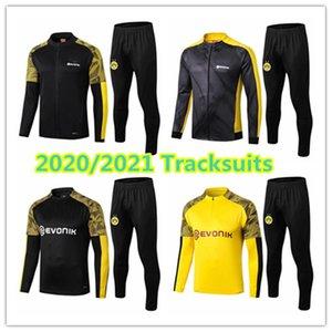 2020 2021 dortmund mens jacket REUS Haaland football kits Brandt tracksuits soccer jerseys long sleeve Sancho Schulz training shirt