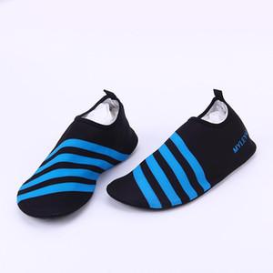 Hot venda- exterior elástica e esportes sapatos confortáveis homens e mulheres Surf Aqua Beach água Shoes Yoga Swim Mergulho meias praia