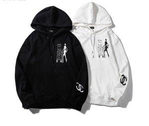 2020 erkek tasarım markası hoodies uzun hoodies kollu lüks Erkekler Hoodies Seyahat bayan baskı erkekler ve kadınlar gevşek çift İşlemeli kazak