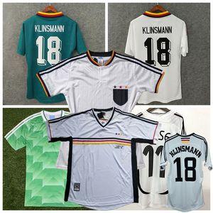 1988 1990 1994 1996 1998 2004 Maglia Retro calcio Germania MATTHAUS BALLACK Klinsmann KLOSE maglia da calcio casa lontano