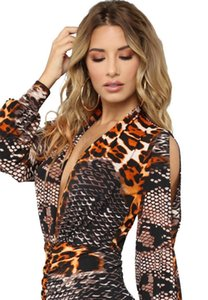 Leopard Women Bodycon Dress Vintage Fashion Designer Newest Luxury Elegant Work Party Casual Sexy for Spring Autumn Night club dress gunn