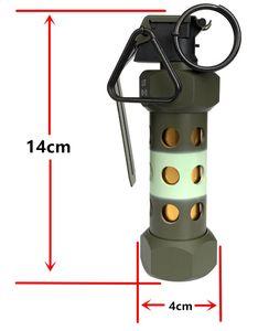 Taktik Kukla M84 Bombası M84 flashbomb Hiçbir fonksiyon 1: 1 Butik modeli AEG Oyuncaklar Metal Yeşil