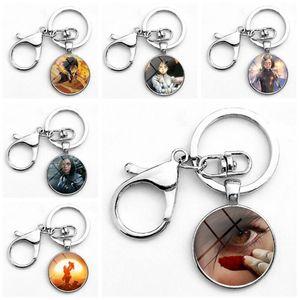 Nuevo Popular Alita Battle Angel Glass Alloy Keychain Home Party Luggages Bolsa Accesorios Regalos Envío Gratis