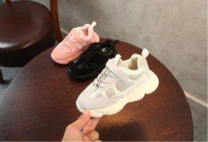 Neue Designer Marke Kinder Schuhe Baby Kleinkind Laufen Turnschuhe Kanye West YZ 500 Laufschuhe Infant Kinder Jungen Mädchen Schuhe