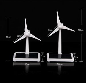 Turbine Mini vento Generator Modelo Solar Wind Power Windmill Eonal DIY Assembléia Geral Modelo Car Kit decoração de mesa