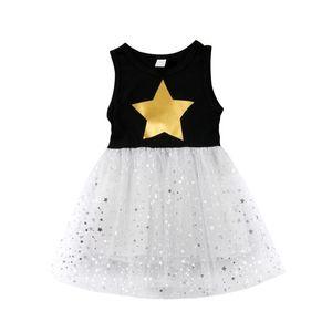 2020 повседневная симпатичные малышей дети новорожденных девочек Принцесса платье Pageant свадьбы Туту вечерняя одежда размер 2-6Т