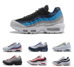 Erkekler Top Sneakers Gri Adam Eğitimi 40-46 maxes açık Ayakkabı yürüyen İçin 2020 Erkek Yastık 95 Koşu Ayakkabıları Otantik Spor Ayakkabıları