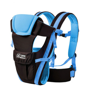 Porta Bebé Wrap Sling canguro delantero del bolso recién nacido frente Holder respirable de la correa del bebé al aire libre Hipseat Cinturón infantil Montón Mochila